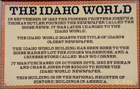 idaho city events idaho city chamber of commerce the territory of idaho was officially organized on march 4 1863