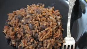 recette de cuisine cubaine riz aux haricots noirs à la cubaine moros y cristianos