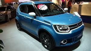 Suzuki Ignis Interior 2017 Suzuki Ignis Compact Top Hybrid Exterior And Interior