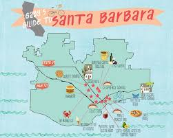 santa barbara california map best 25 santa barbara ca ideas on santa barbara