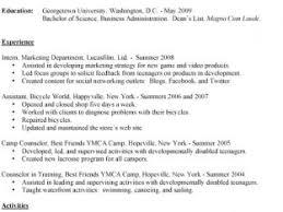Best Resume Format Template Good Resume Formats Nardellidesign Com