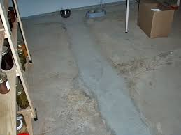 what causes leaky floors in basements fixing leaking basement