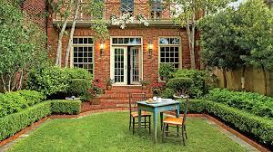Georgia Backyard Store An Elegant Georgia Courtyard Garden Southern Living