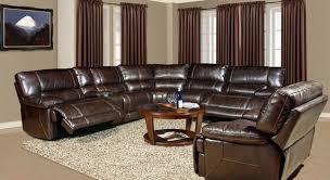 Modular Leather Sectional Sofa Parker Living Pegasus Dark Brown Modular Power Reclining Sectional