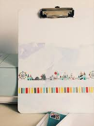 washi tape diy washi tape diy clipboard amy u0027s art table