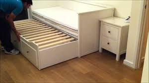 bedding engaging ikea hemnes bed daybed frame with drawers white