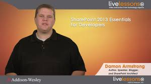 sharepoint 2013 essentials for developers livelessons
