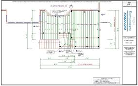 framing plans urbandale deck porch project house plans 61780