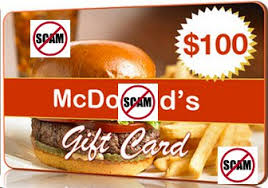 mcdonalds gift card discount card scam thank you with mcdonald s sweeps rewards