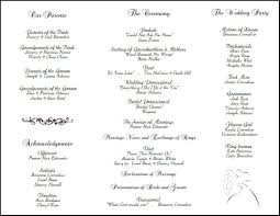 wedding reception program wedding reception program template template design
