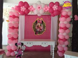 minnie arch balloons decorations arco de globos minnie pink