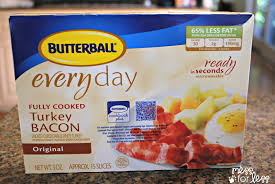 butterball cooked turkey butterball turkey bacon jpg mess for less