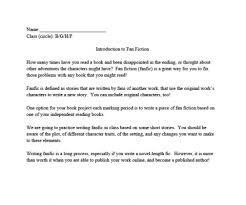 fan fiction examples lessons and scaffolding inclusive