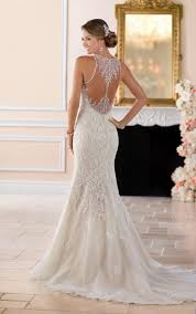 high neck wedding dresses high neck wedding dress with lace beading stella york