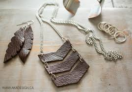 diy leather necklace images 20 diy jewelry tutorials jpg