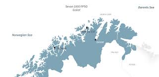 Location Of Norway On World Map by Goliat The Mega Oil Platform Eni Eniday