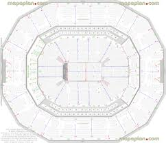 detailed seat row numbers end stage concert sections floor plan