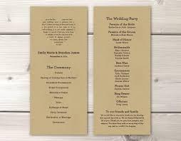 Wedding Program Printing 28 Printing Wedding Programs Unique And Fun Wedding Program