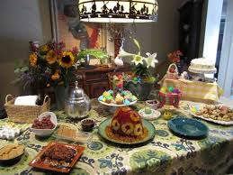 buffet table decoration ideas the images collection of interesting easter buffet table