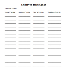 employee performance log template employee performance review