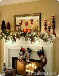 christmas mantel 5 days of christmas inspiration merry mantels