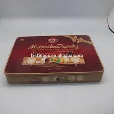 cmrk print rectangular tin box christmas cookie tin box buy