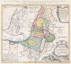 Map Of Isreal File 1750 Homann Heirs Map Of Israel Palestine Holy Land 12