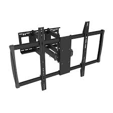full motion tv wall mount 60 inch homevision tygerclaw 60 to 100 inch full motion wall mount