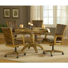 dining table with caster chairs kitchen table and two chairs kitchen table and chairs with casters