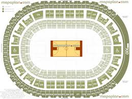 palace of auburn hills seat u0026 row numbers detailed seating chart