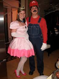 Mario Princess Peach Halloween Costume Operation Spookify 2009 Party Heardmont