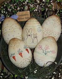 primitive easter eggs primitive easter primitive easter egg pattern 1 by