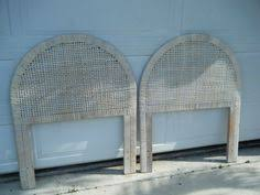 Wicker Headboards Twin by Faux Bamboo Tommy Bahamas Style Cane Twins Headboards Unbranded