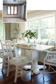 Cottage Dining Room Ideas by Best 20 Eat In Kitchen Ideas On Pinterest Kitchen Booth Table