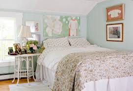 Shabby Chic Metal Bed Frame by Bedroom Beautiful Polka Dot Sheets In Bedroom Shabby Chic With