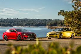 2018 lexus rc f review 2015 bmw m4 vs 2015 lexus rc f comparison motor trend