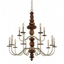 15 Light Chandelier Traditional