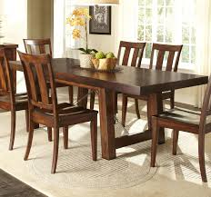 Slate Dining Room Table 7 Piece Dining Table With Slat Back Chair Set By Liberty Furniture