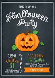 scary halloween party invitations the hair color trend