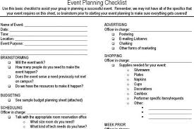Event Planning Sheet Template Event Planning Checklist Event Planner Checklist By Go Big Event