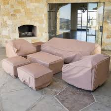 Outdoor Patio Furniture Covers by Portofino Comfort 7pc Furniture Cover Set Rst Brands