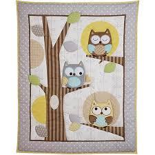 Owls Crib Bedding Child Of Mine By S Treetop Friends 3 Crib Bedding Set