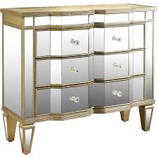 Pulaski Bedroom Furniture Furniture Front 2 Drawers Mirrored Chest Of Drawers For Bedroom