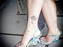 flower ankle designs