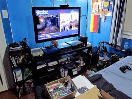 Console Gaming Desk by Show Us Your Gaming Set Up Head Fi Org