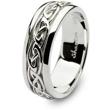 celtic mens wedding bands mens celtic wedding rings shm sd11
