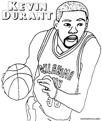kevin durant coloring pages coloring pages to download and print