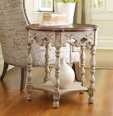 Living Room Accent Tables Hooker Furniture Living Room Sanctuary Round Accent Table Dune