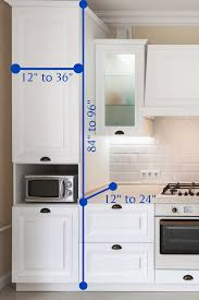 standard height of cabinets in kitchen kitchen cabinet height guide how high should they be