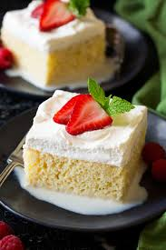 tres leches cake cooking classy